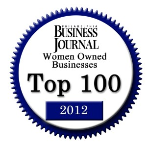 2012 Business Journal Top Women Owned Biz Logo